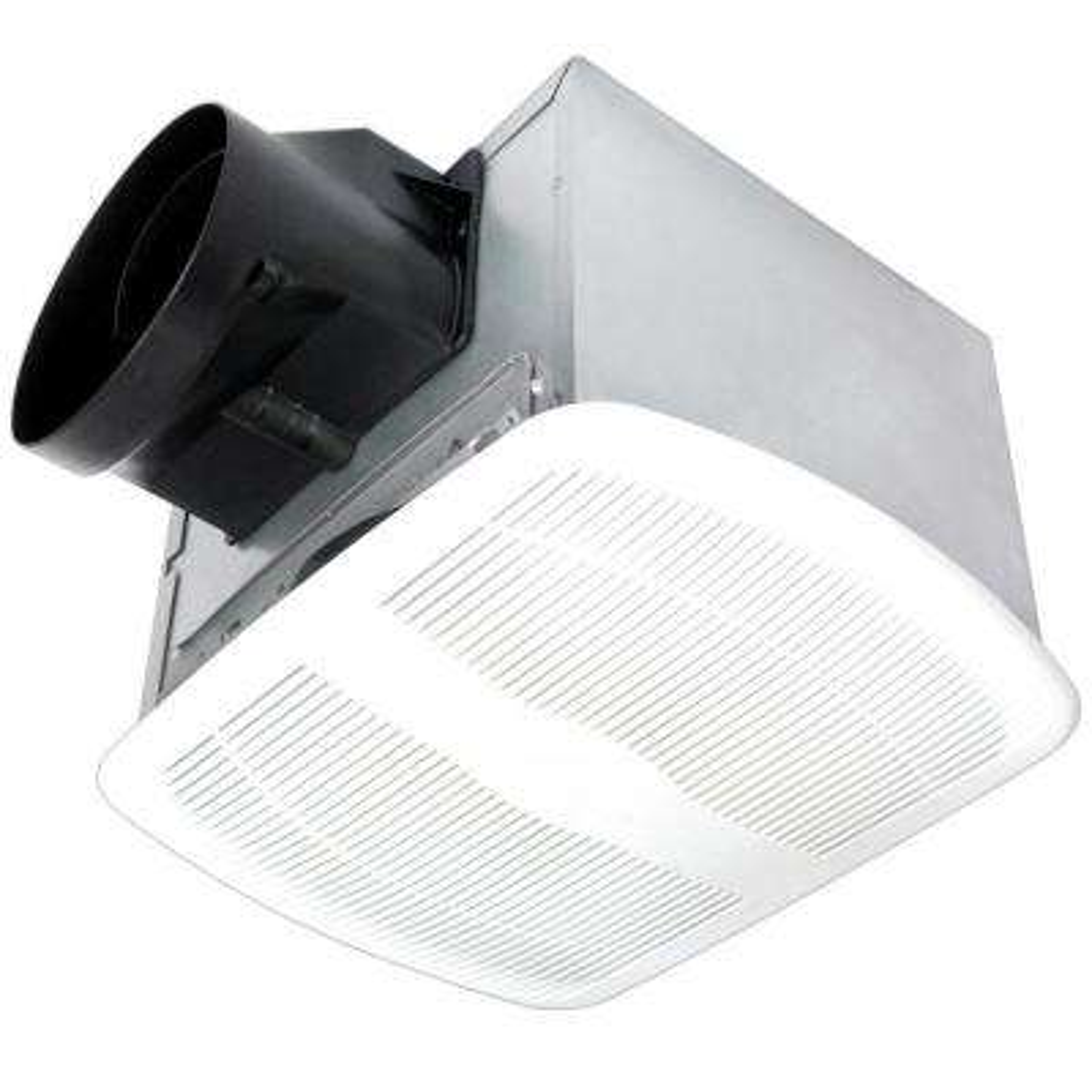 Humidity Sensing White 110 CFM 1.1 Sones Ceiling Bath Fan