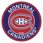 NHL Montreal Canadiens Navy 2 ft. x 2 ft. Round Area Rug
