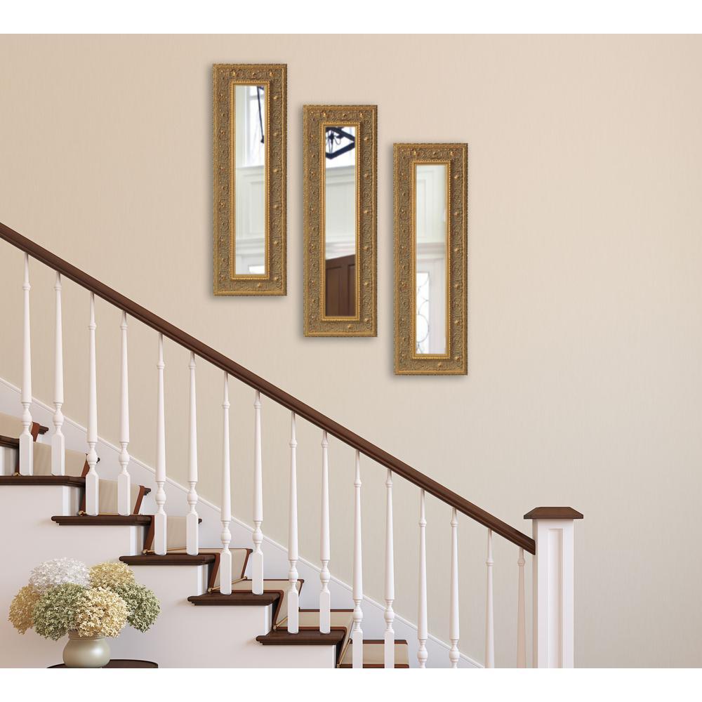 Opulent Gold Vanity Mirror (Set Of 3