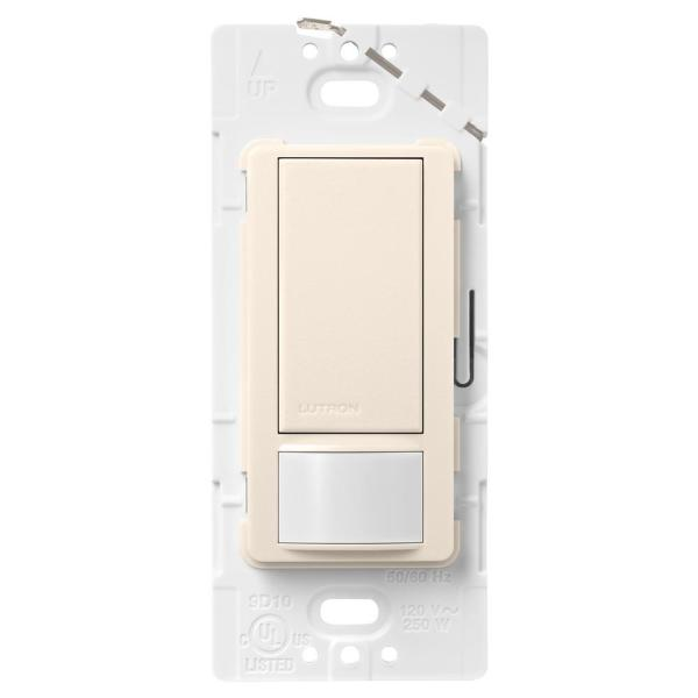 Maestro Motion Sensor switch, 2-Amp, Single-Pole, Eggshell