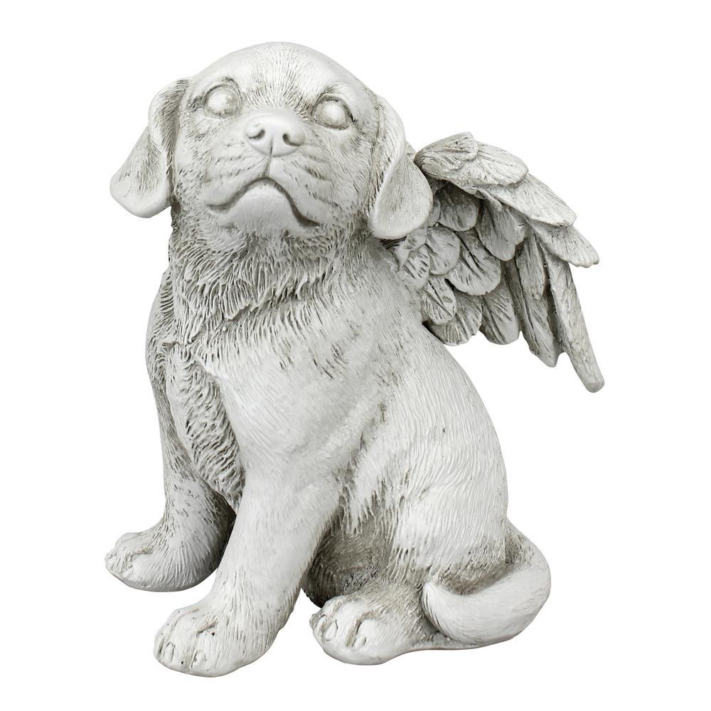 5.5 in. H Loving Friend Memorial Pet Dog Medium Statue