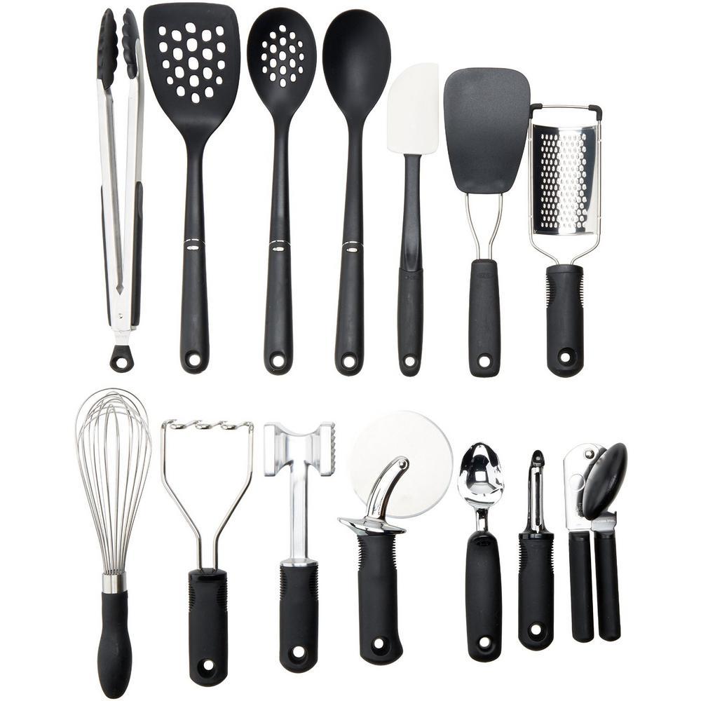 Etonnant +4. OXO Good Grips 15 Piece Everyday Kitchen Tool Set