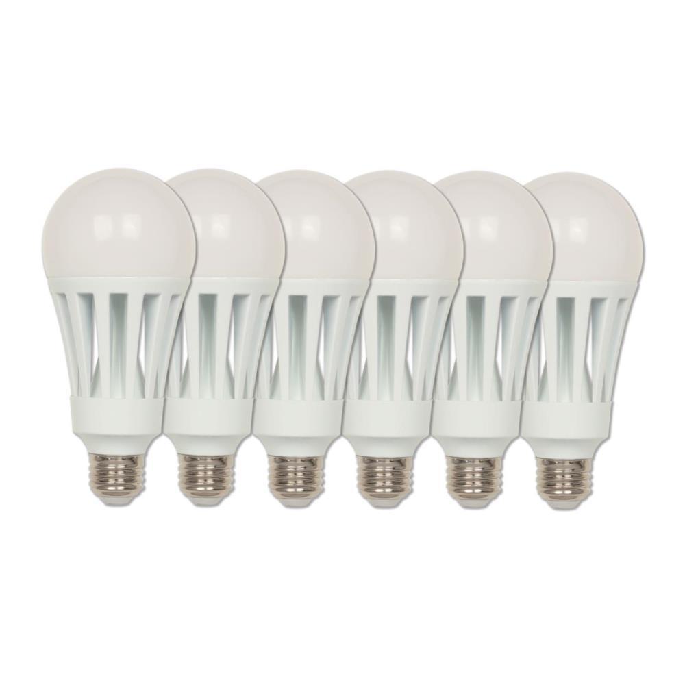 200 Watt Equivalent Omni A23 Energy Star Soft White Led Light Bulb Daylight 6 Pack
