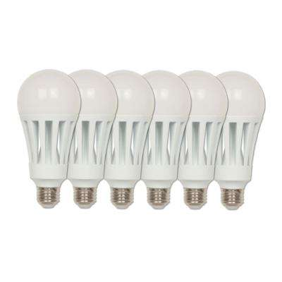 200-Watt Equivalent Omni A23 ENERGY STAR Soft White LED Light Bulb Daylight (6-Pack)