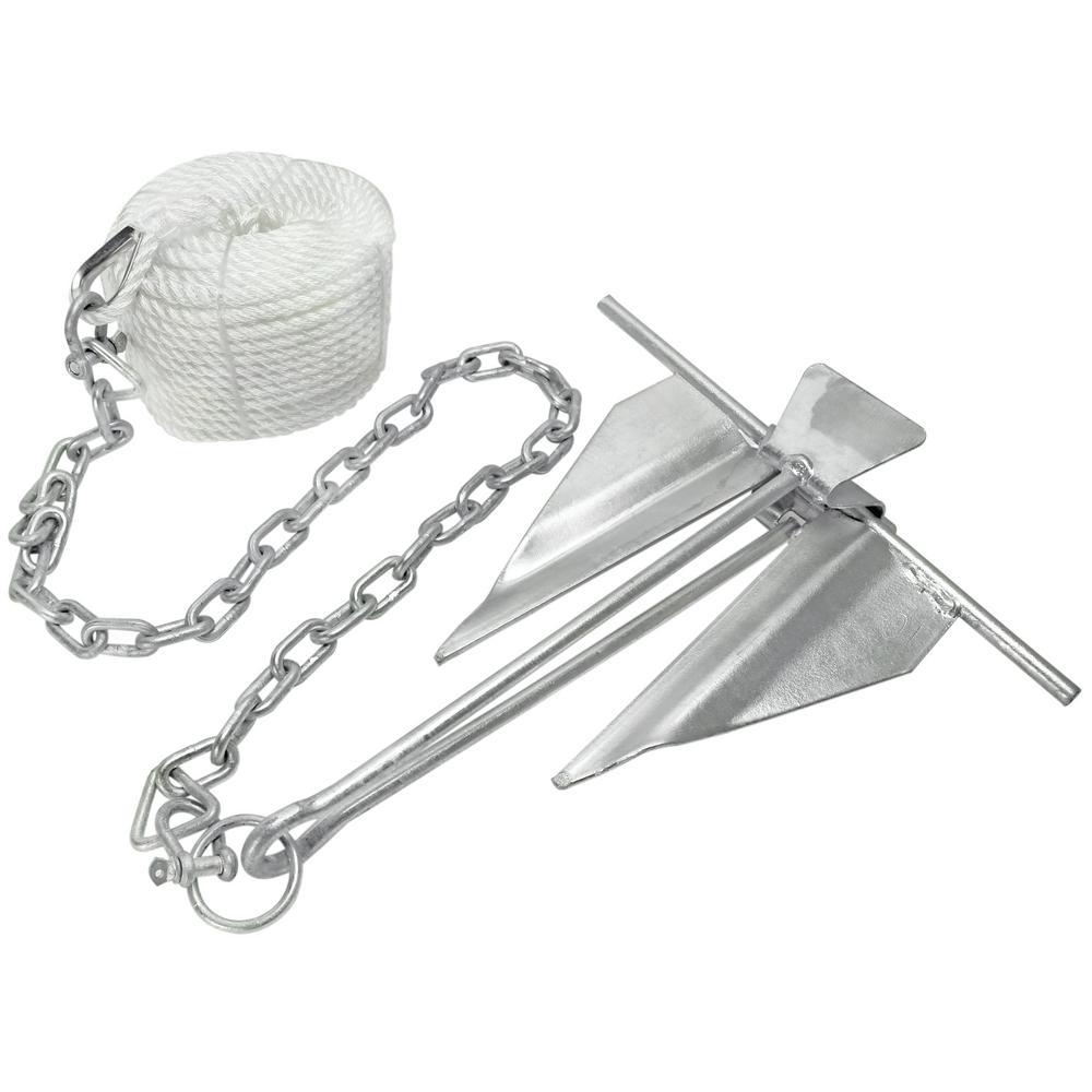 Grapnel 2.5kg Premium Anchor Kit