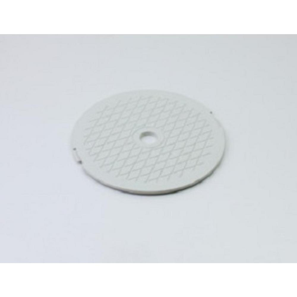 Northlight 7.75 in. White Decorative Diamond Pattern Swimming Pool Skimmer  Cover