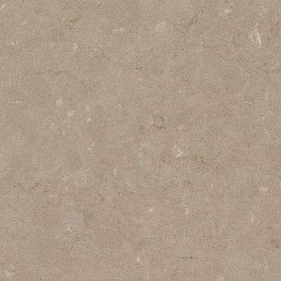 2 in. x 4 in. Quartz Countertop Sample in Coral Clay
