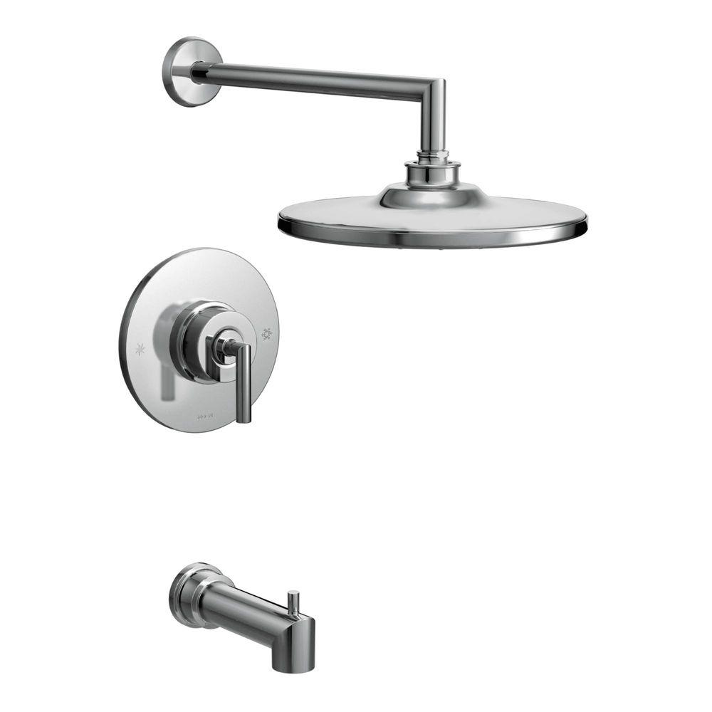 MOEN Arris Posi Temp Single Handle 1 Spray Tub And Shower Faucet Trim