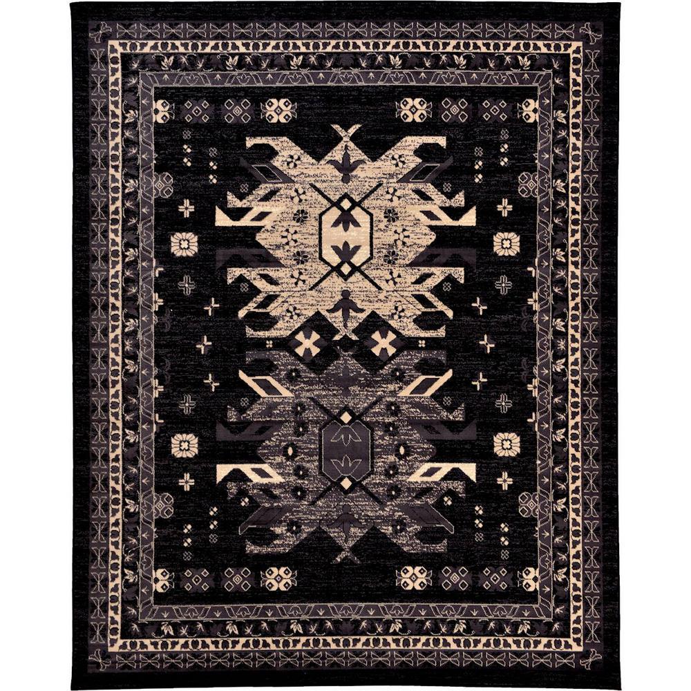 Taftan Oasis Black 8' 0 x 10' 0 Area Rug