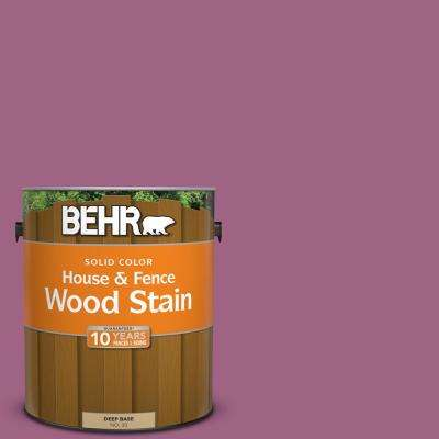1 gal. #M120-6 Love Poem Solid Color House and Fence Exterior Wood Stain