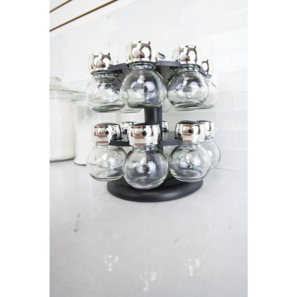 Home Basics 16-Piece Revolving Spice Rack SR44072