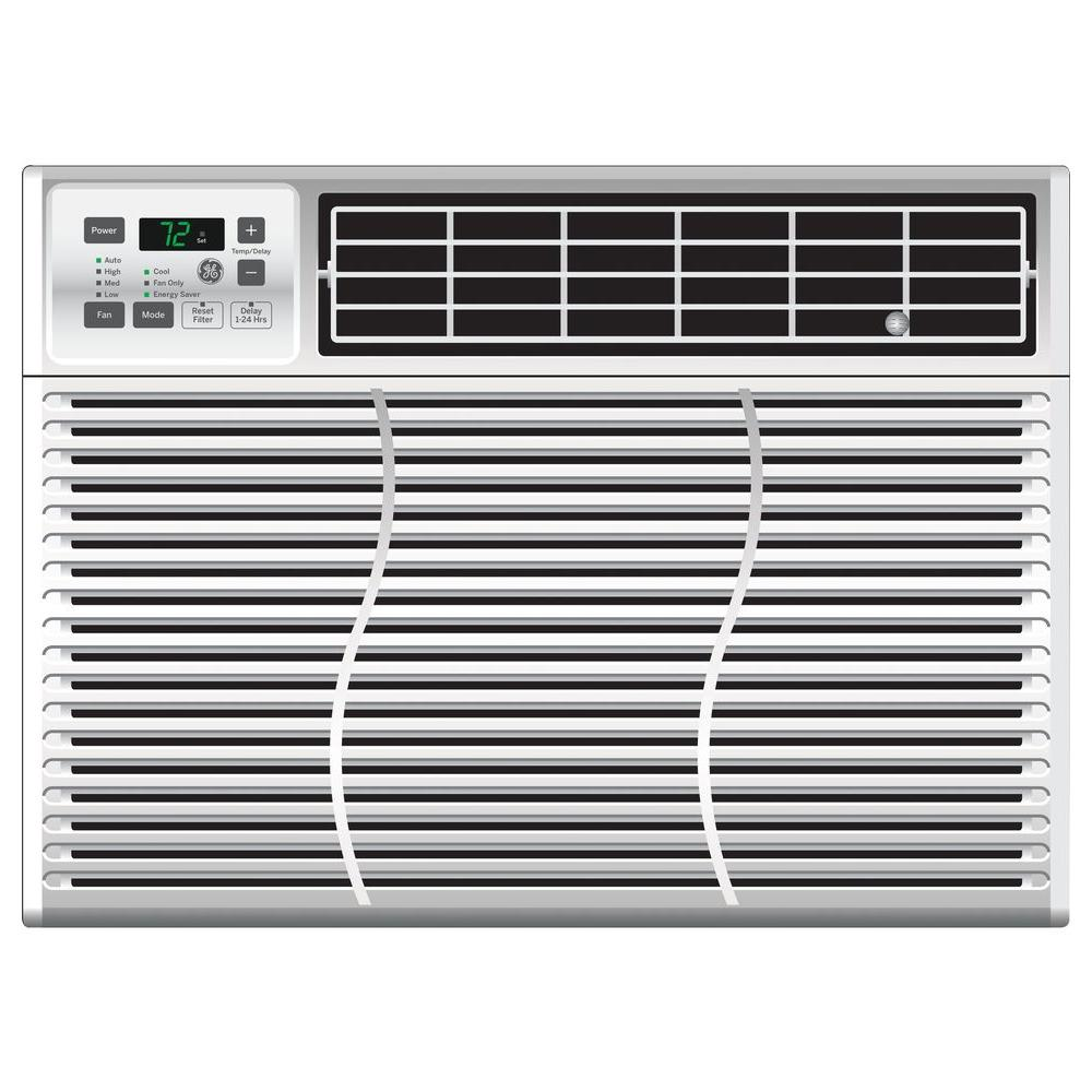 lg electronics 7 500 btu 115 volt window air conditioner with cool heat and remote lw8016hr. Black Bedroom Furniture Sets. Home Design Ideas
