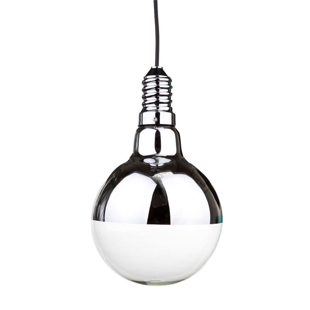 Control Brand Big Idea 1-Light Silver Pendant
