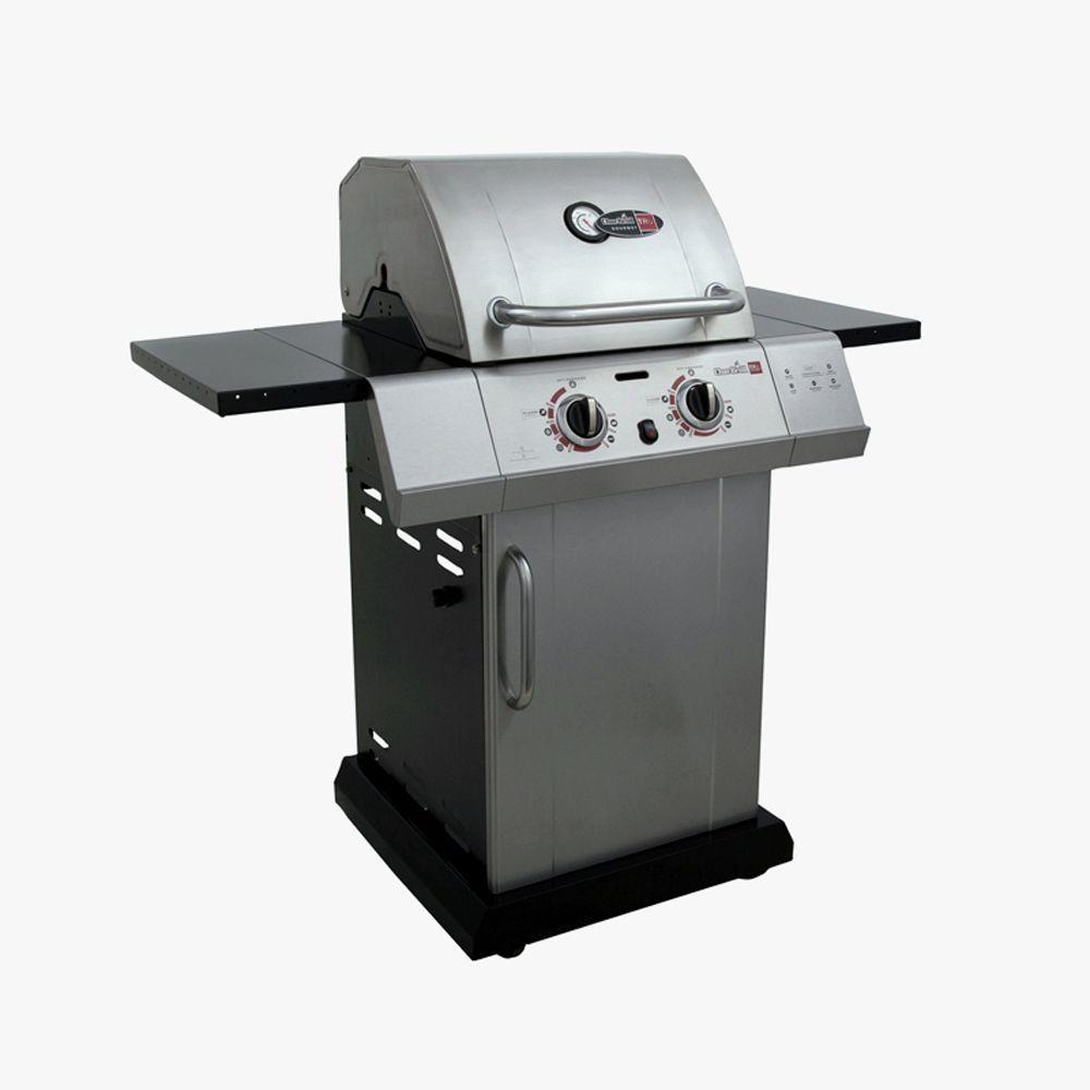 char broil gourmet tru infrared 2 burner propane gas grill. Black Bedroom Furniture Sets. Home Design Ideas