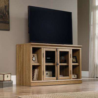 Barrister Lane Scribed Oak Storage Entertainment Center