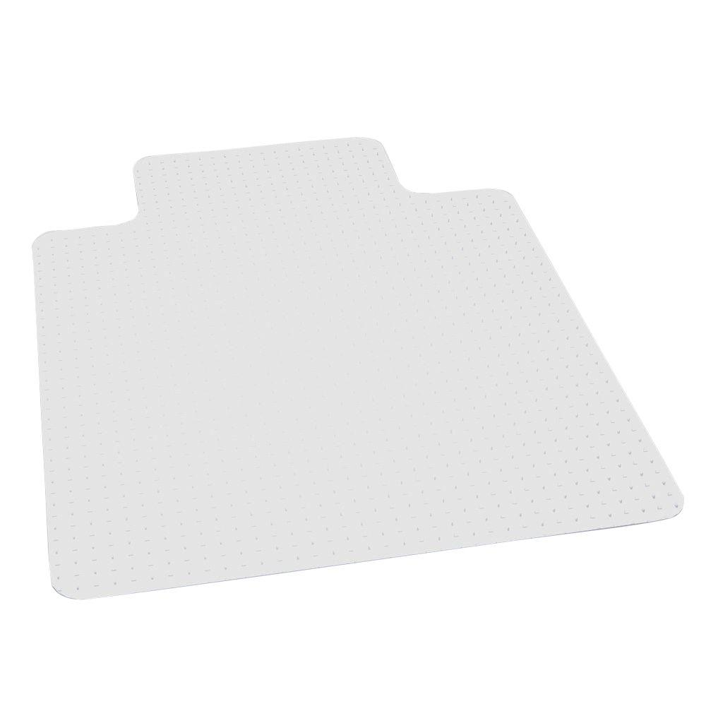 es robbins professional clear 36 in x 48 in carpet vinyl chair mat
