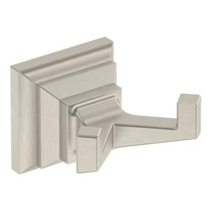 Symmons Oxford Single Robe Hook in Satin Nickel by Symmons