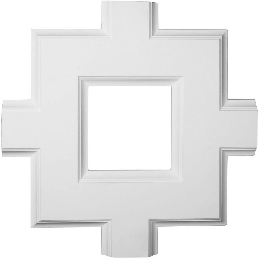 Do It Yourself Home Design: Ekena Millwork 36 In. Inner Square Intersection For 8 In