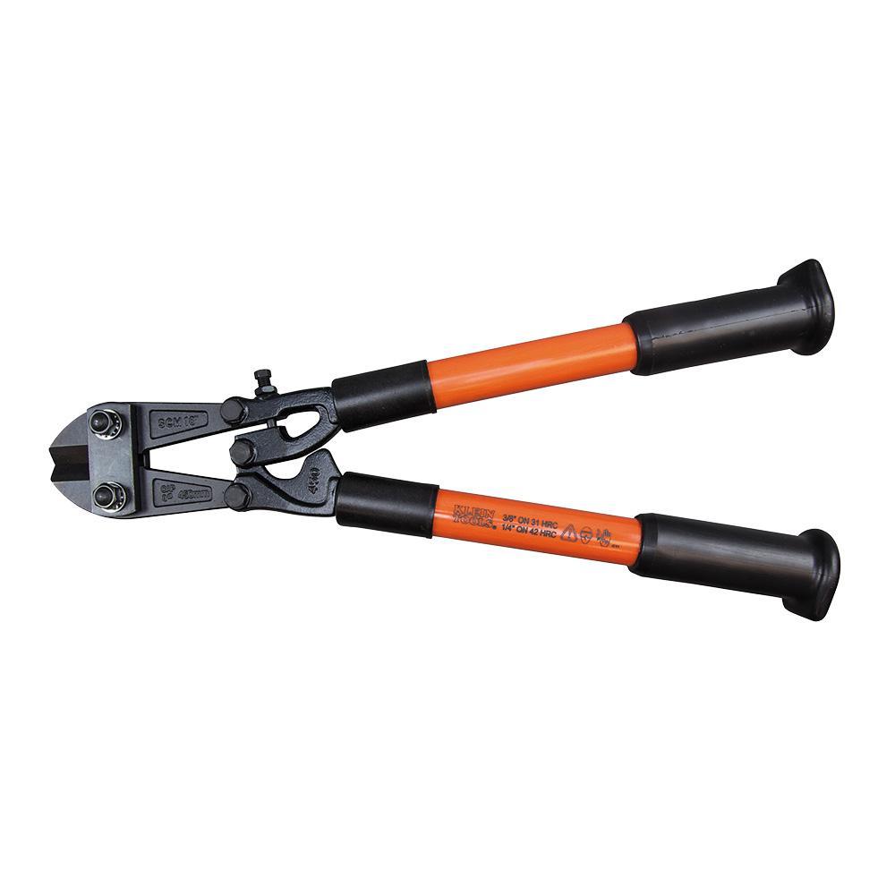 Klein Tools 18-1/4 in. Bolt Cutter with Fiberglass Handles