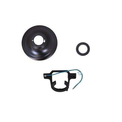 Brookedale 60 in. Oil Rubbed Bronze Ceiling Fan Replacement Mounting Bracket and Canopy Set