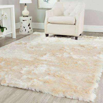 Paris Shag Ivory 10 ft. x 14 ft. Area Rug