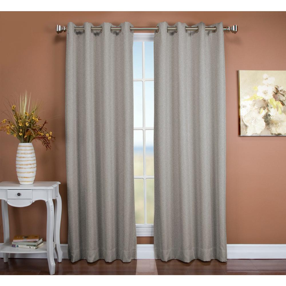 Tacoma 50 in. W x 84 in. L Polyester Double Blackout