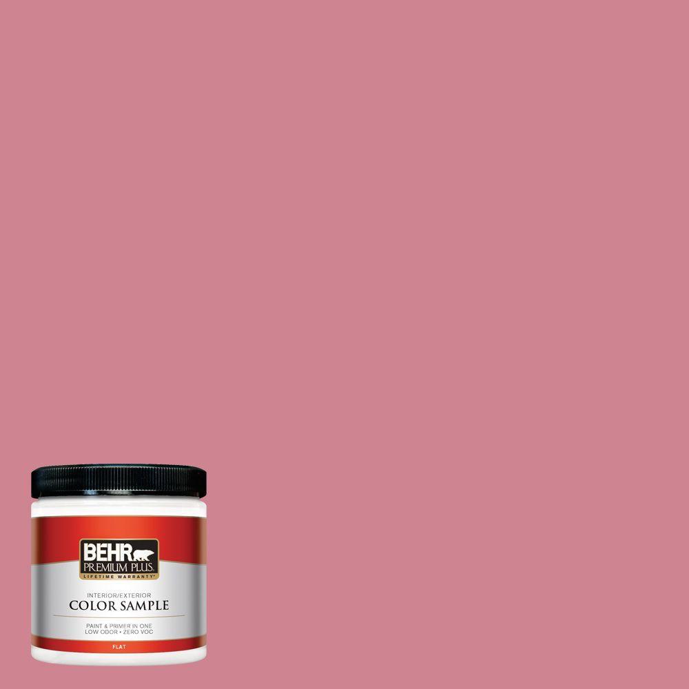8 oz. #130D-4 Rose Sachet Interior/Exterior Paint Sample