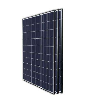 270-Watt 24-Volt Polycrystalline Solar Panel for Residential Commercial Rooftop Back-Up Off-Grid Application (Pack of 3)
