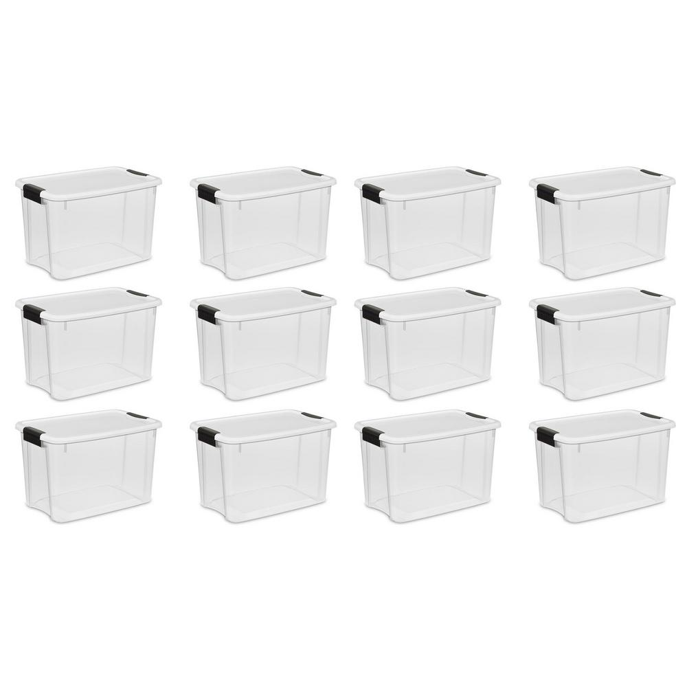 Ultra Latch Storage Box With White Lid