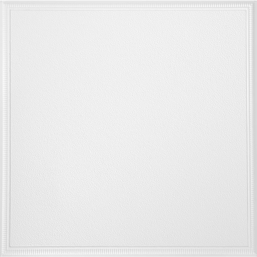 Armstrong Fluted Square 2 Ft X 2 Ft White Lay In