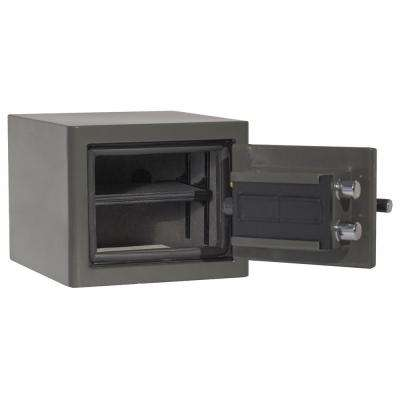 Sanctuary Platinum Series  11.25 in. Tall Fire/Water Proof Safe with Electronic Lock in Graphite Gloss
