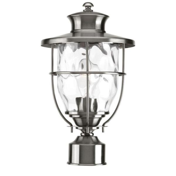 Beacon Collection Outdoor Stainless Steel Post Lantern