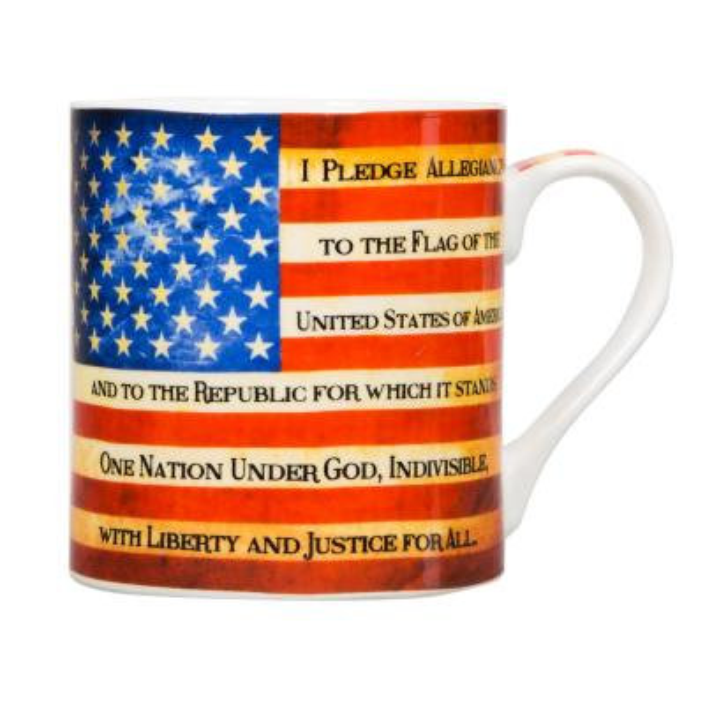 "17 oz. ""I Pledge Of Allegiance"" Mug"