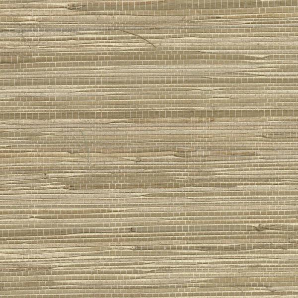 Kenneth James Daria Neutral Grasscloth Wallpaper 2622-65621
