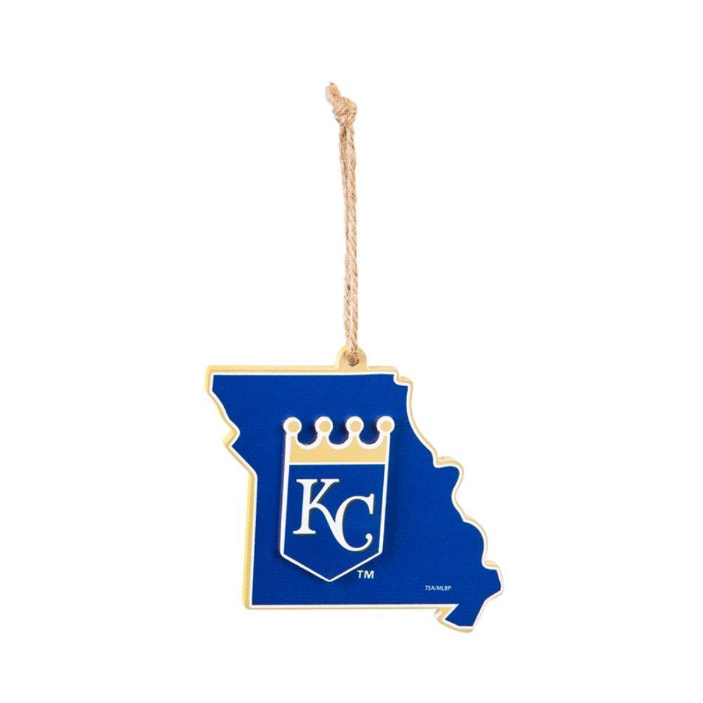 Kansas City Royals 5 in. MLB Team State Christmas Ornament