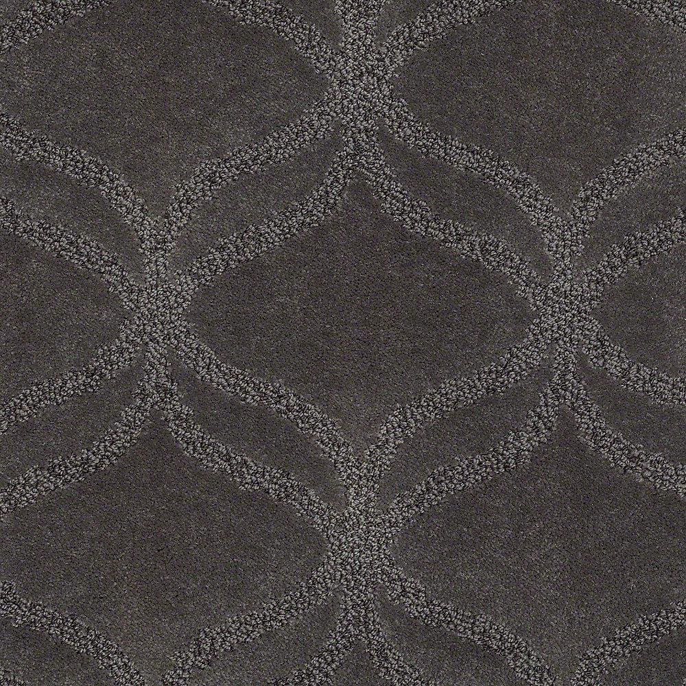 Platinum Plus Carpet Sample Kensington In Color Moon Dust 8 X