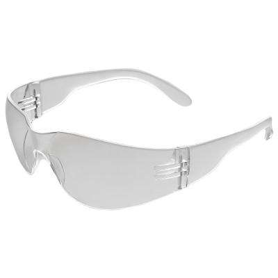 Iprotect Safety Glasses, Clear Temple/Clear Anti-Fog Lens