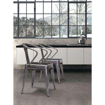 Helix Black Gold Dining Chair (Set of 2)