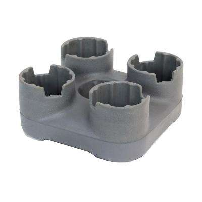 BevBase Graphite Grey 4-Way Beverage Holder