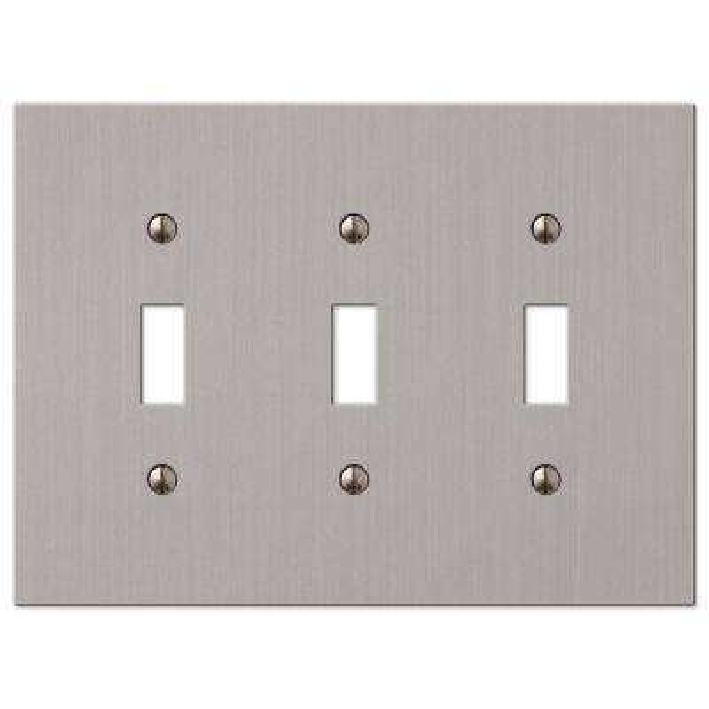 Elan 3 Toggle Wall Plate - Brushed Nickel