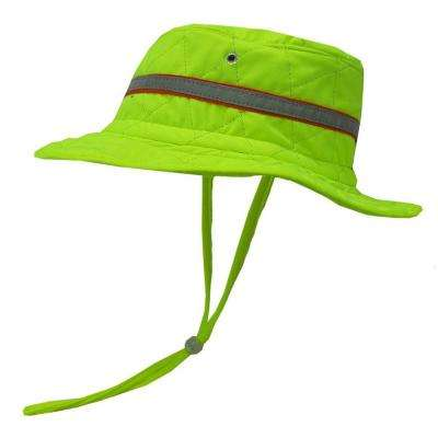 Medium Lime Evaporative Cooling Ranger Cap with High Visibility Tape