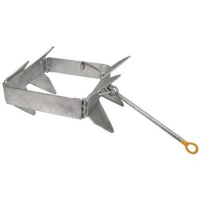 13 lbs. Fold and Hold Galvanized Anchor