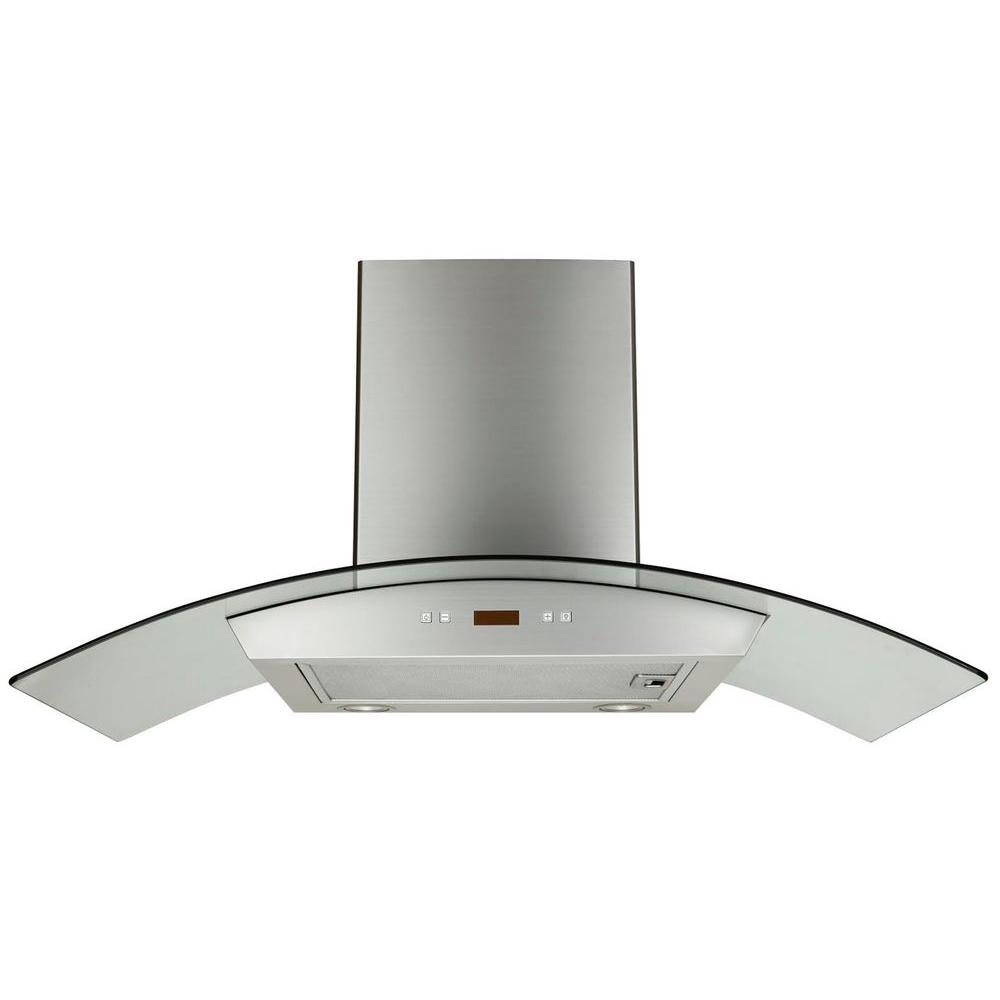 Kokols 30 In Convertible Wall Mount Decorative Range Hood