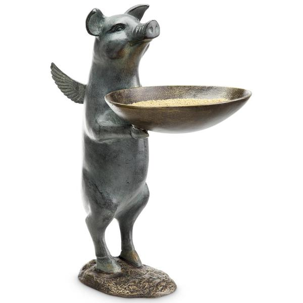 Winged Pig Bird Feeder