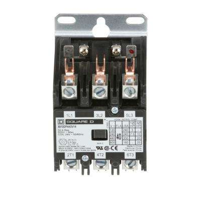 40 Amp 24-Volt AC 3 Pole Open Definite Purpose Contactor (20-Pack)