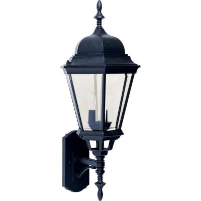 Westlake 3-Light Black Outdoor Wall Mount Sconce