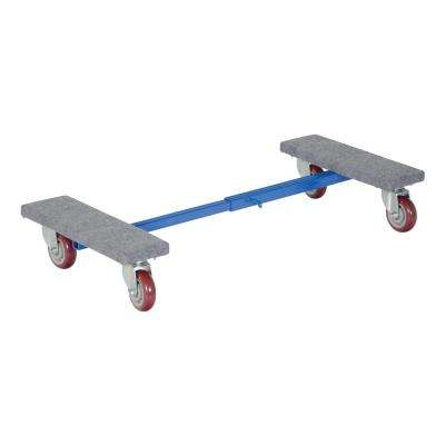 16 in. x 24 in. Adjustable Carpet End Dolly