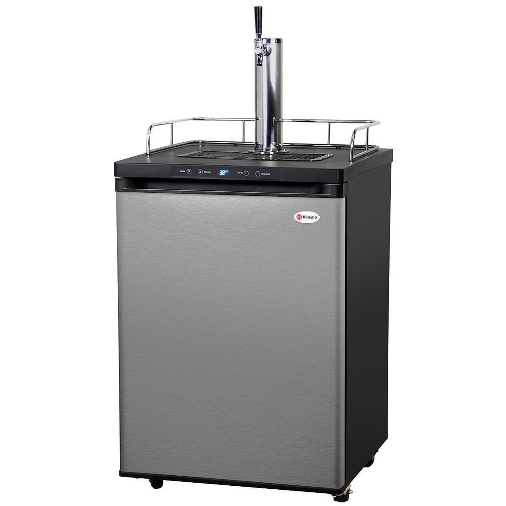 Kegco Full Size Digital Beer Keg Dispenser With Single Tap