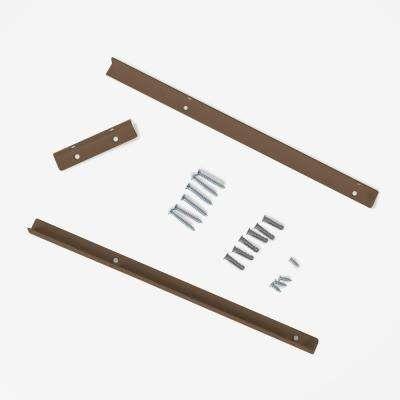 Shelf Bracket Support Kit in Mocha