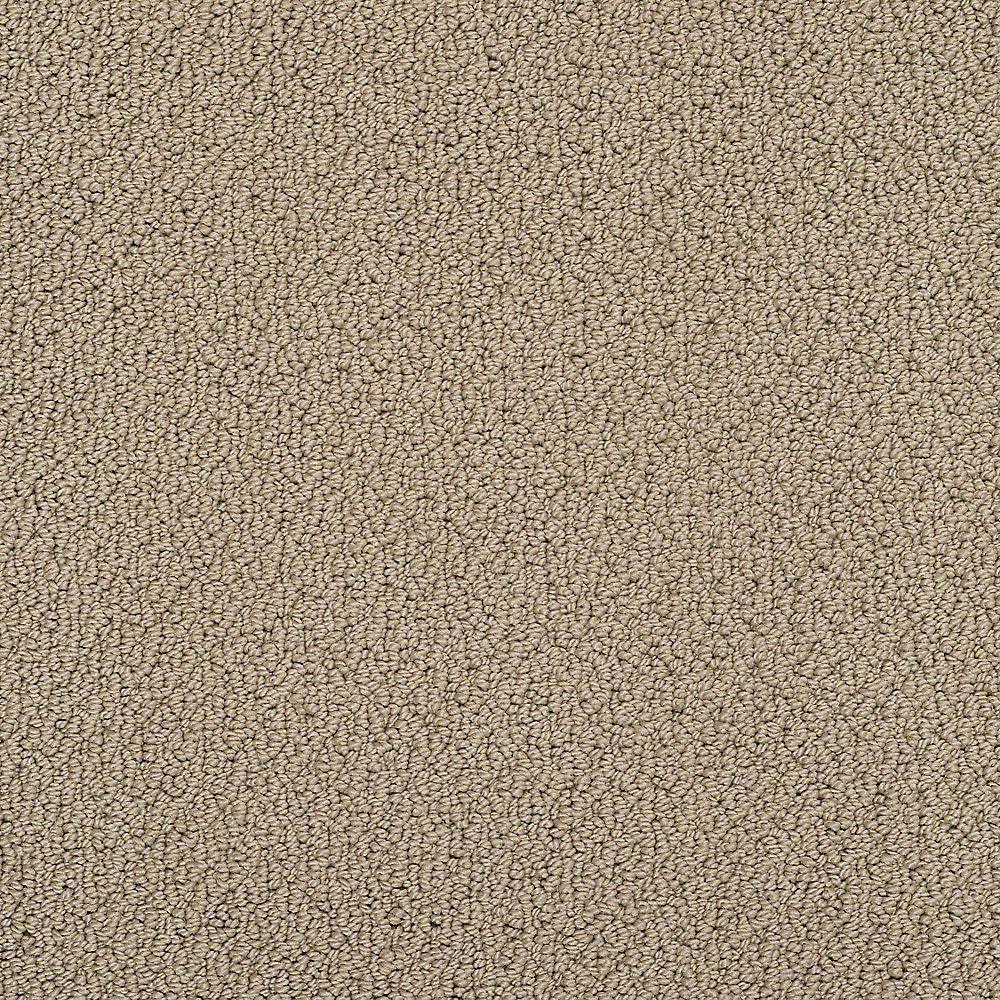 Carpet Sample - Treasure - In Color Coyote 8 in. x 8 in